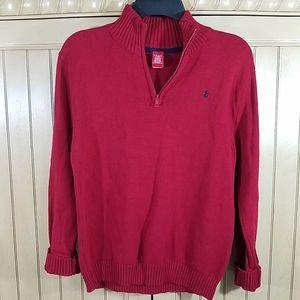 Cranberry Red Izod Sweater, sz Lg 14/16